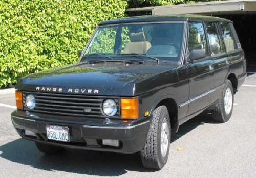 Product picture LAND ROVER RANGE ROVER 1986-1996, SERVICE, REPAIR MANUAL