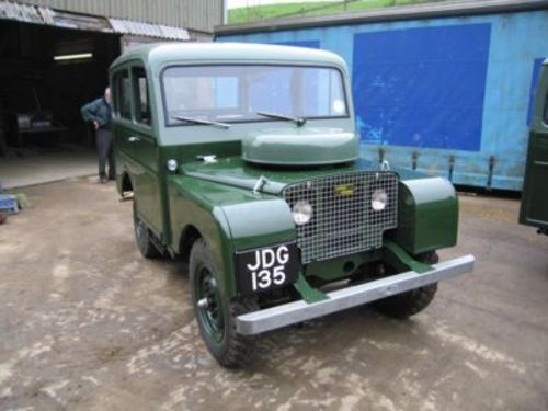 Product picture LAND ROVER SERIE 1 1948-1958, SERVICE, REPAIR MANUAL